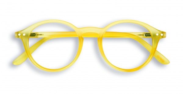 Lesebrille #D Yellow Chrome +3,00 von Izipizi
