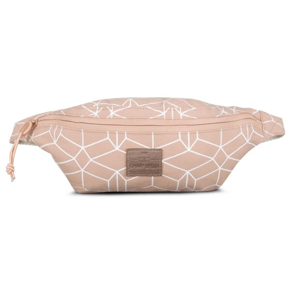 Hip Bag Toni Canvas Rosa Muster von Johnny Urban