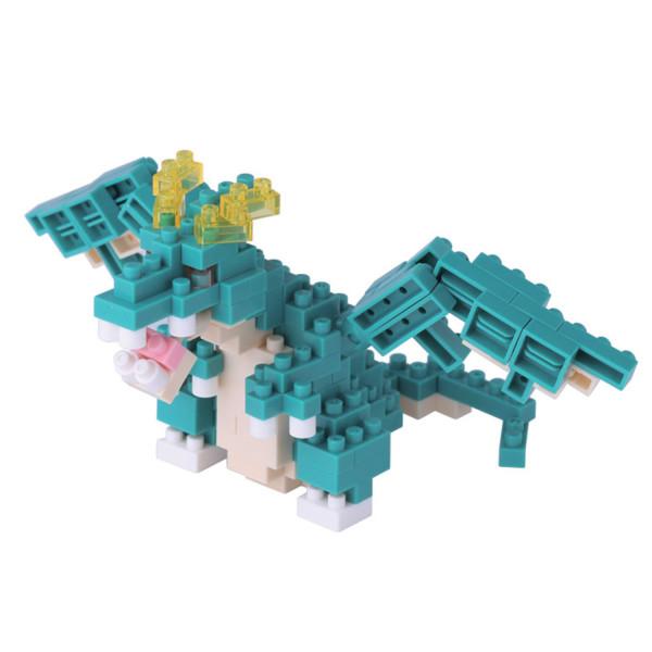 Mini Bausteine Nanoblock Blue Dragon von Nanoblock