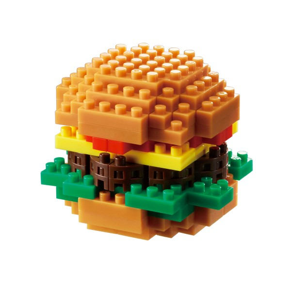 Nanoblock Mini Bausteine Nanoblock Hamburger
