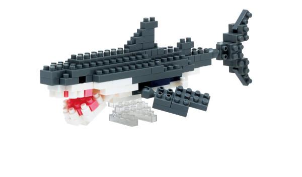 Mini Bausteine Nanoblock Weißer Hai von Nanoblock
