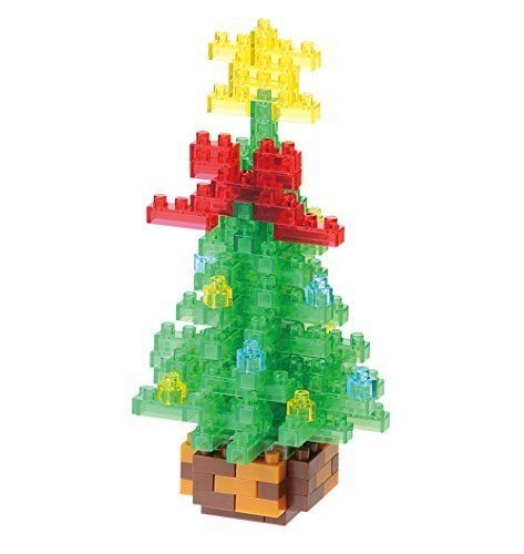 Mini Bausteine Nanoblock Weihnachtsbaum von Nanoblock