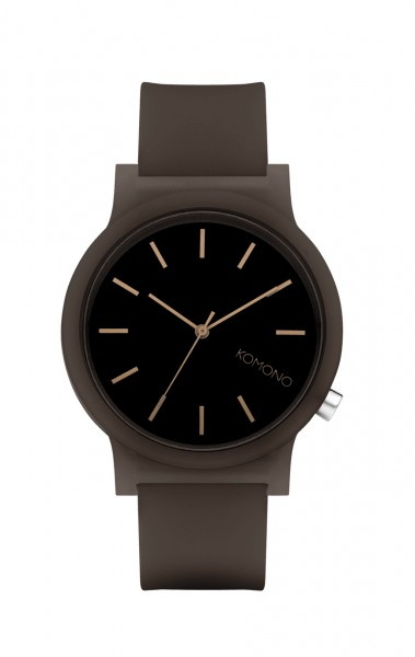 Armbanduhr Mono Black Glow von Komono