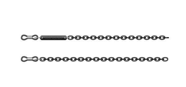 Brillenband Kette Schwarz von Komono