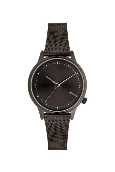 Armbanduhr Estelle Royale Black Silber