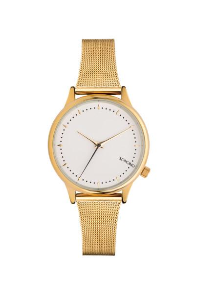Armbanduhr Estelle Royale Gold Weiß