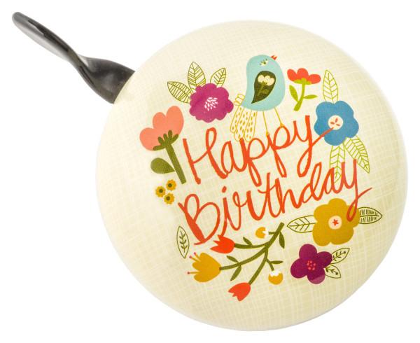 Fahrradklingel Ding Dong Carolyn Gavin Happy Birthday