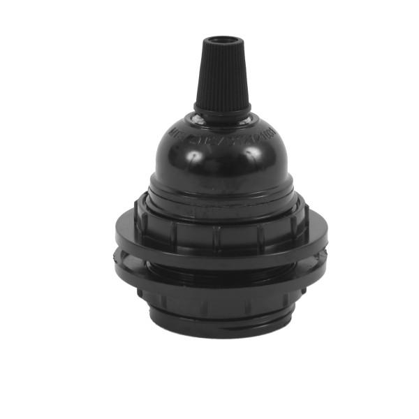 Lampenfassung Schwarz für Lampenschirm