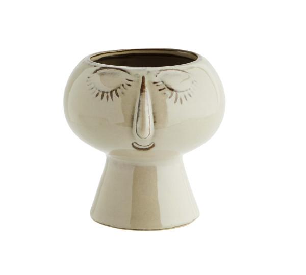 Madam Stoltz Vase mit Gesicht S
