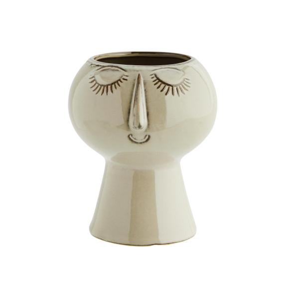 Madam Stoltz Vase mit Gesicht M