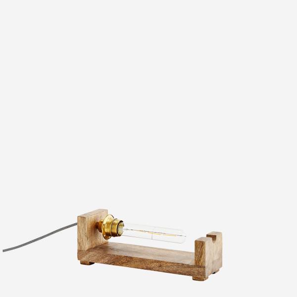 Holzlampe von Madam Stoltz