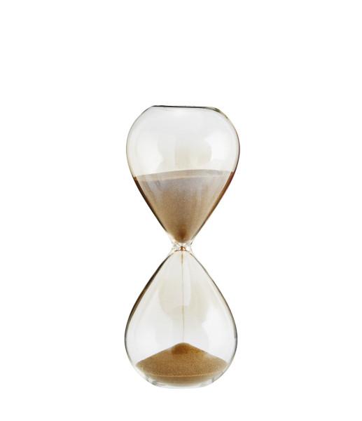 Stundenglas 10 Minuten Haselnuss Sand von Madam Stoltz