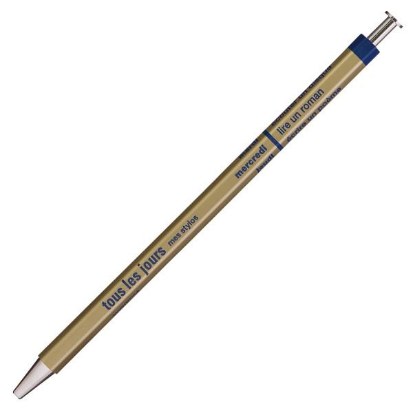 Kugelschreiber DAYS Gold von MARKS TOKYO EDGE