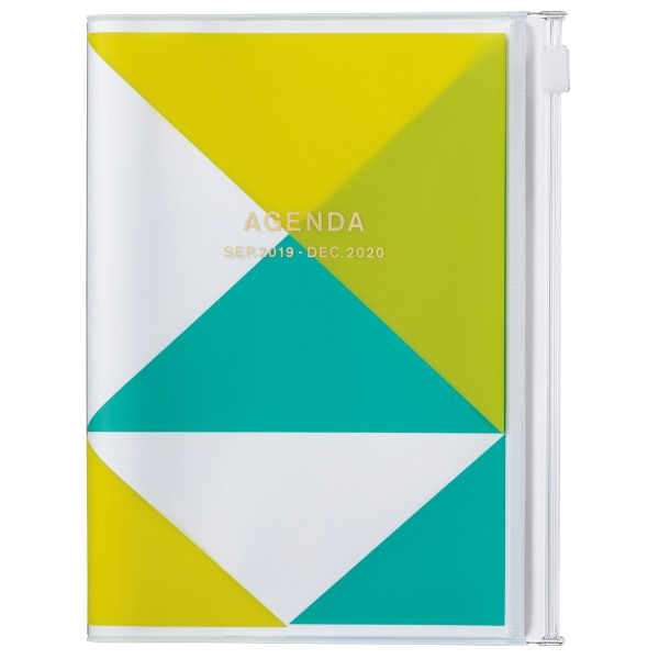 A6 Kalender 2020 Geometric, Gelb von MARKS TOKYO EDGE