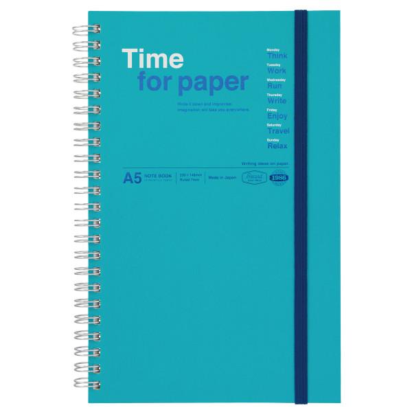 A5 Notizbuch Time for Paper Türkis von MARKS TOKYO EDGE