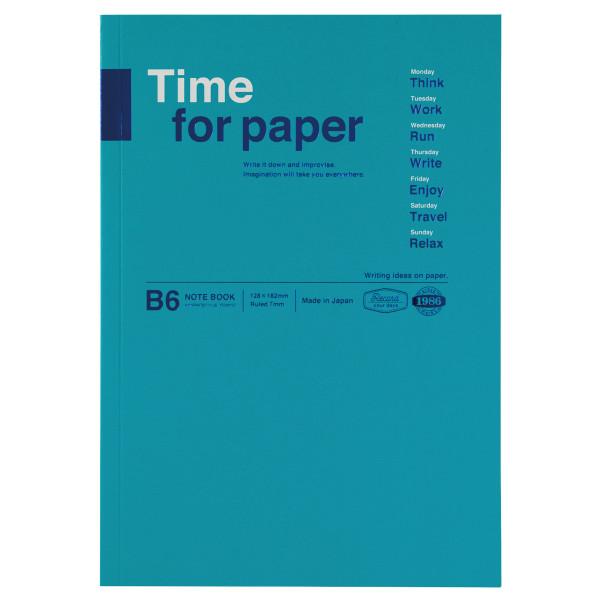 B6 Notizbuch Time for Paper Türkis von MARKS TOKYO EDGE