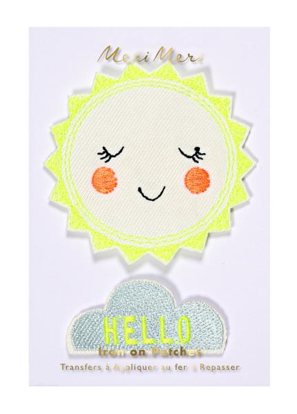 Aufnäher Hello Sunshine