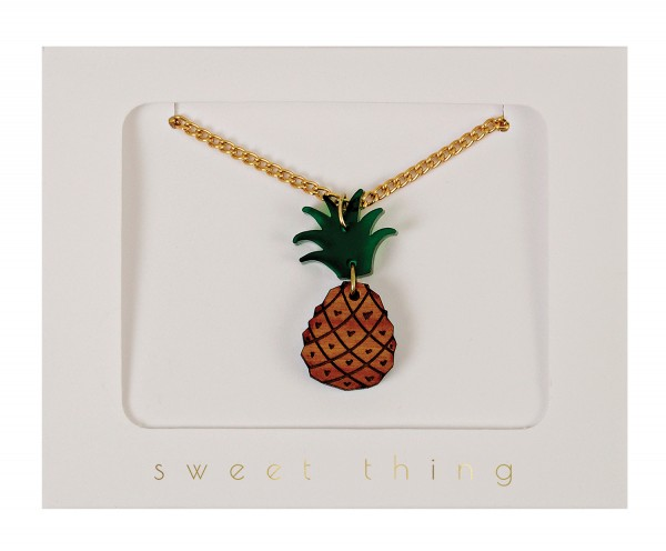 Kinderkette Ananas