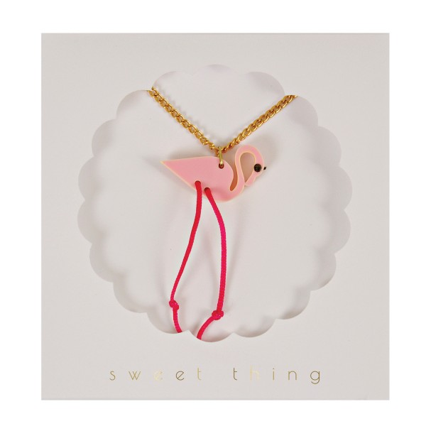 Kinderkette Flamingo