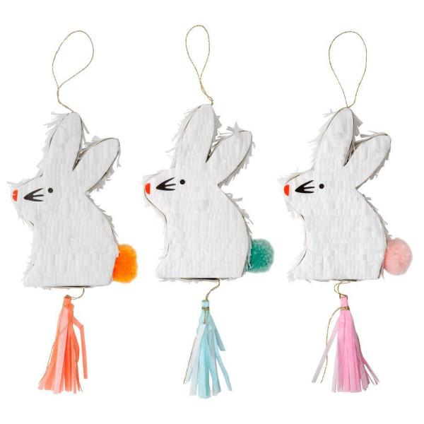 Pinata Bunny Favor 3er Set von Meri Meri