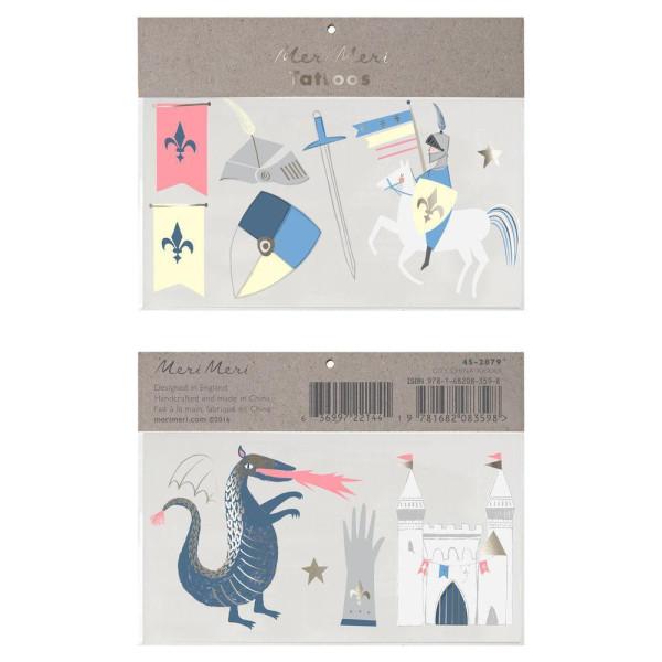 Tattoos Dragon Knights von Meri Meri