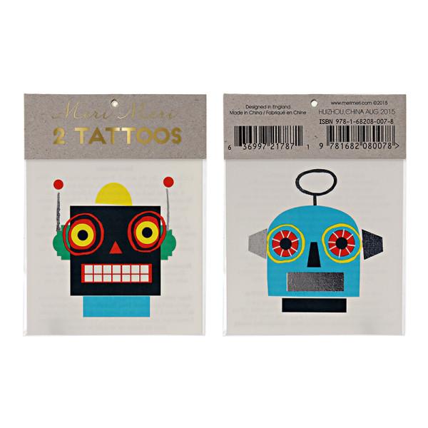 Tattoos Robot von Meri Meri