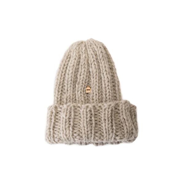 Mütze Muffi Natural Light Grey von Myssy