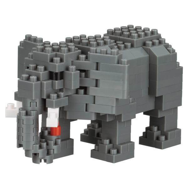 Mini Bausteine Nanoblock Afrikanischer Elefant von Nanoblock