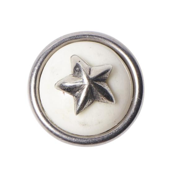 Chunk Petite OSHUN STAR Weiss Silber