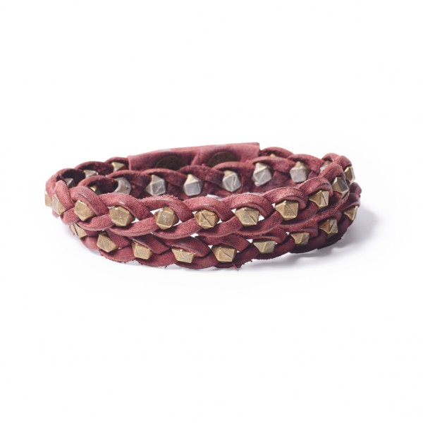 Armband OSHUN Luck Bordeaux S