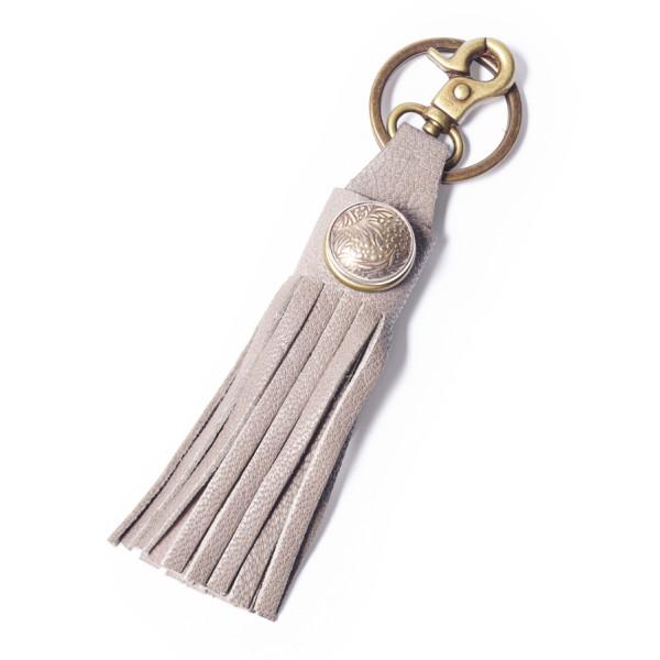 Schlüsselanhänger Oshun Grau