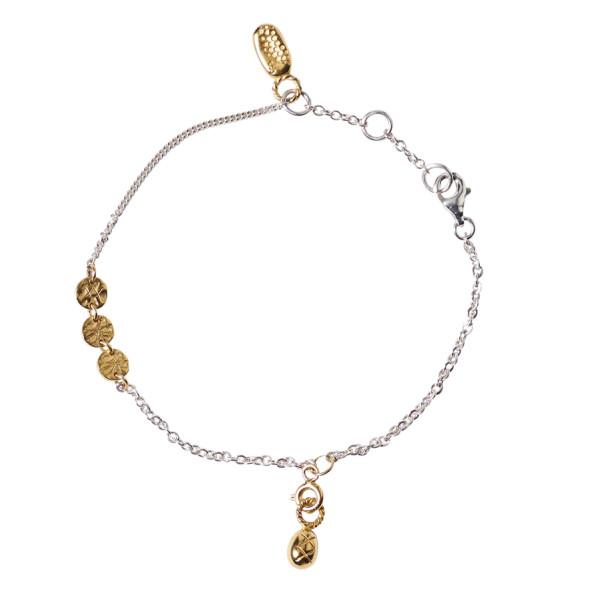 Armband Relics Runen Gold