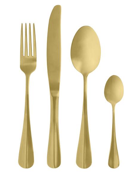 Besteck Set, Gold