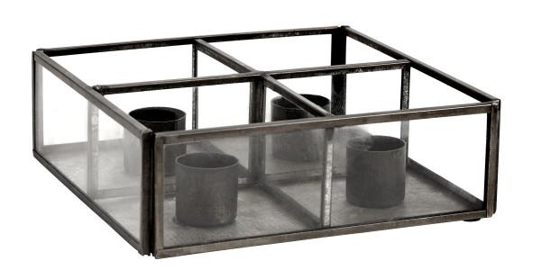 Kerzenständer Black Box