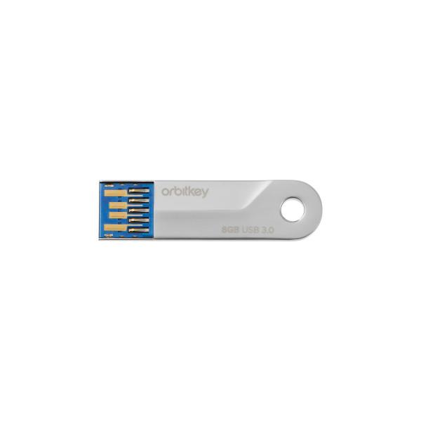 Schlüssel Organizer Accessoire USB 3.0 8GB von Orbitkey