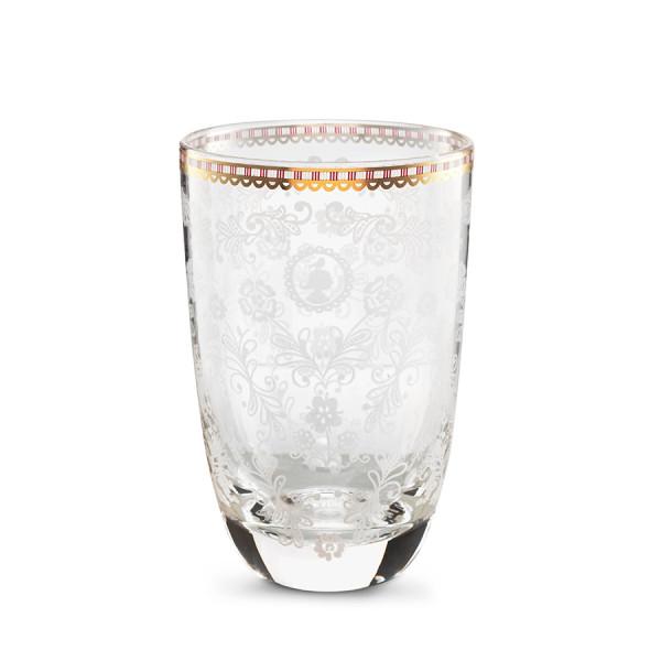 Longdrink Glas Floral Klar