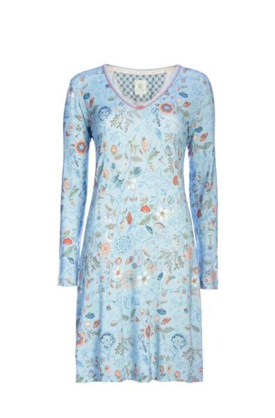 Nachthemd Langarm Dana Spring to Life Blue S