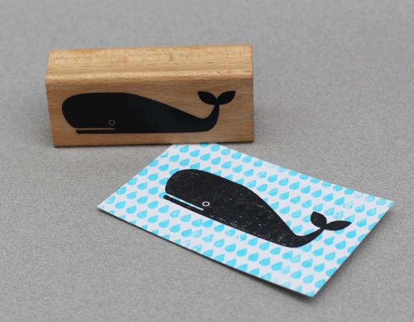 Stempel Wal von perlenfischer