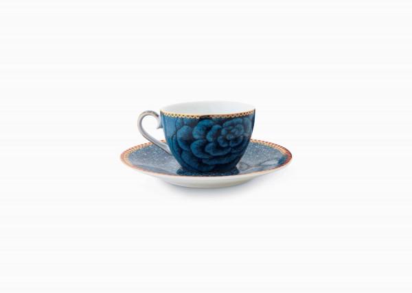 Espressotasse und Untertasse Spring to Life Blue