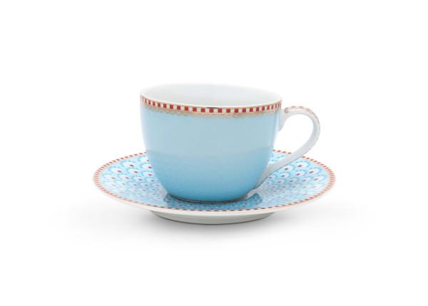 Espressotasse und Untertasse Bloomingtales Blue