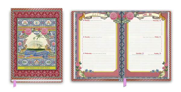 Schülerkalender A5 Indian Festival