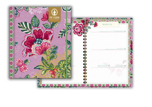 Jahreskalender A5 Hide and Seek