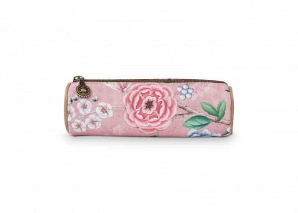 Kleines Kosmetiketui Floral Pink