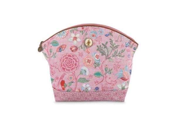 Kosmetiktasche Spring to Life Pink L