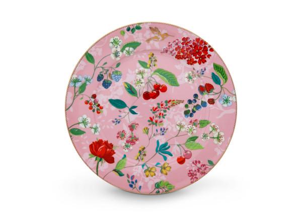 Kuchenplatte Hummingbirds Pink