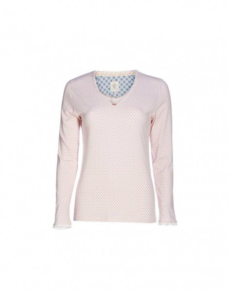 Langarm-Shirt Trice Go Nuts Pink S von PIP Studio