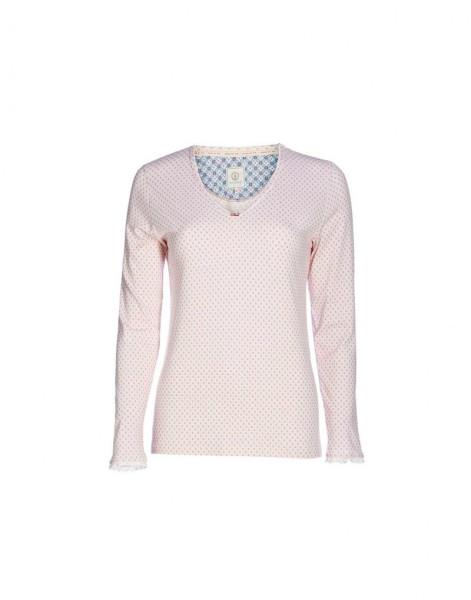 Langarm-Shirt Trice Go Nuts Pink L von PIP Studio