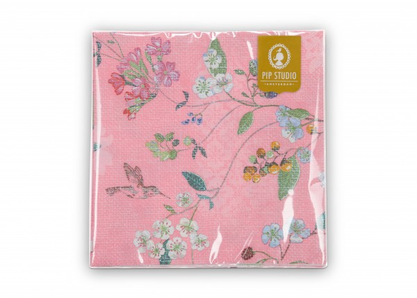 Papierservietten Hummingbirds Pink
