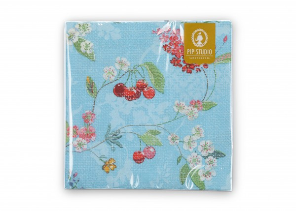 Papierservietten Hummingbirds Blue