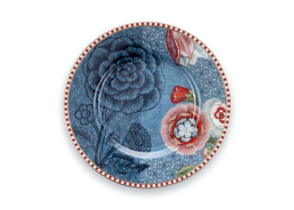 Petit Four Teller Spring to Life Blau